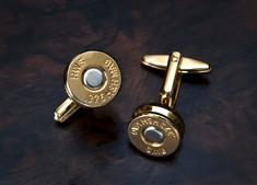 Manschettenknöpfe - Patrone (Gold)